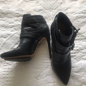 BCBGeneration Leather Ankle Boots